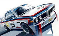 BMW artwork by Radu Muntean