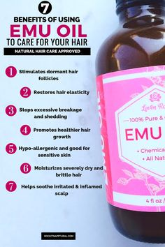 Emu oil has recently grown a reputation for being highly beneficial to the hair and scalp, especially to boost hair growth. The oil...(read more)