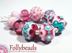 Hey, I found this really awesome Etsy listing at https://www.etsy.com/au/listing/533613313/handmade-lampwork-artisan-glass-bead-set