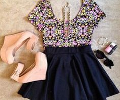 Moda Para Meninas   via Facebook