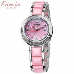 $23.60 (Buy here: https://alitems.com/g/1e8d114494ebda23ff8b16525dc3e8/?i=5&ulp=https%3A%2F%2Fwww.aliexpress.com%2Fitem%2FLuxury-Watches-Women-Famous-KIMIO-Brand-New-Ladies-Ceramics-Rhinestone-Roman-Numerals-Wristwatch-Quartz-Watch-female%2F32681871903.html ) Luxury Watches Women Famous KIMIO Brand New Ladies Ceramics Rhinestone Roman Numerals Wristwatch Quartz Watch female Clock hours for just $23.60