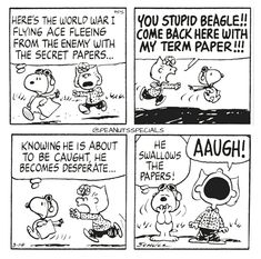 More About The Curious Beagle Puppy Temperament Peanuts Cartoon, Peanuts Snoopy, Peanuts Comics, Snoopy Cartoon, Snoopy Love, Snoopy And Woodstock, Funny Cartoons, Funny Comics, Snoopy Comics