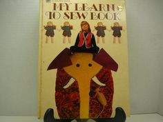 My Learn to Sew Book 1970 A Golden Book by RandomGoodsBookRoom, $7.00