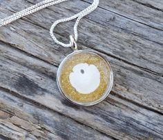Beach Wedding Sand Dollar Necklace by AprilHilerDesigns on Etsy