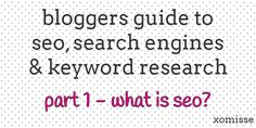 Blog Tips | All About Search Engines, SEO for Bloggers #blogdesign #socialmedia #seo #blogging #blogtips
