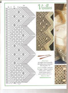 LABORES DE BOLILLOS 042 – Almu Martin – Webová alba Picasa Victoria Sanchez, Bobbin Lace Patterns, Lacemaking, Lace Design, Tatting, Album, How To Make, Crafts, Tutorial