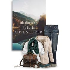 A Grand Adventure, created by cynthia335 on Polyvore