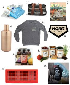 A gift guide perfect for Father's Day!