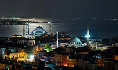 Стамбул Istanbul, Dream City, Turkey Travel, Beautiful Sunset, Seattle Skyline, Empire State Building, Illusions, Times Square, Real Estate