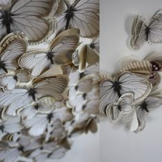 Papillon Ginette blanc