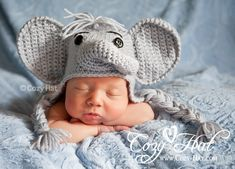 This Adorable Elephant Set will look fantastic on a boy or a girl. Hand crochet of soft yarn for comfort and coziness. Beautiful gift for baby shower or great as a photo prop. Available in sizes Newborn to 24 months. - See more at: http://www.cozy-hat.com/products/elephant-hat-diaper-cover-set/#sthash.ENHIoEAd.dpuf