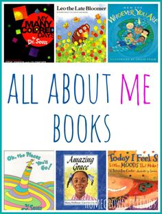 MFW - U is for US - Collection of picture books perfect for an All About Me Theme for Preschool and Kindergarten All About Me Preschool Theme, Preschool Books, Preschool Themes, Preschool Lessons, Preschool Classroom, Classroom Activities, Classroom Ideas, Preschool Learning, Reading Activities
