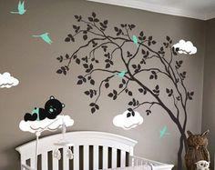 Bebé vivero pared calcomanías etiqueta de la por WallConsilia
