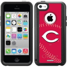 iPhone 5c OtterBox Commuter Series MLB Case, Red