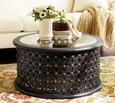 Luxury decorating a small round side table Graphics, lovely decorating a small round side table and coffee table captivating metal round coffee table small round coffee tables ottoman coffee table carved 24 decorating small side table Diy Storage Ottoman Coffee Table, Coffee Table Pottery Barn, Drum Coffee Table, Antique Coffee Tables, Black Coffee Tables, Coffee Table Design, Modern Coffee Tables, Unusual Coffee Tables, Black Table