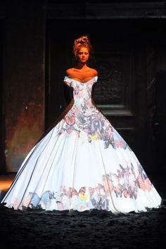 Franck Sorbier   Haute Couture Autumn/Winter 2012/2013...genius!