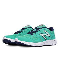 Green & Navy New Balance 575 Running Shoe by New Balance #zulily #zulilyfinds