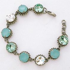 Crystal Bracelet with Rope Chain SALE!!