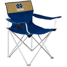 Logo Chair Notre Dame Fighting Irish Canvas Chair