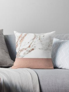 Our best-selling rose gold veined marble, now with added rose gold foil. • Also buy this artwork on home decor, apparel, stickers, and more.