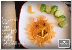 Edible fun: lion snack || #LittlePassports #cute #food for #kids