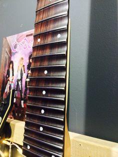 DIY: Scalloped Guitar Fretboard