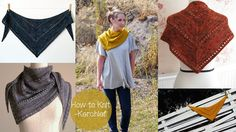 HOW TO KNIT A KERCHIEF/SHAWL
