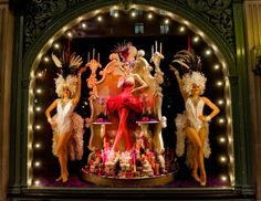 Fortnum Mason - christmas - christmas windows - shops - london - christmas window displays - festive - pictures