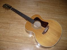 Here's a picture of this very large Jumbo Guild 12-String. Ready to go back to making music!