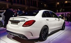 2015 Mercedes C 63 AMG S Rear View