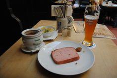 Bolo de carne e cerveja: melhores companhias em Munique