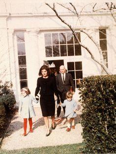 December 5, 1963.  Leaving the White House