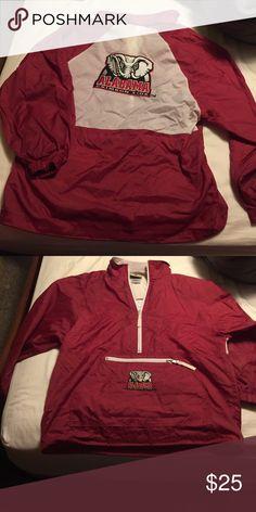 Alabama Crimson Tide windbreaker Alabama Crimson Tide windbreaker Reebok Jackets & Coats