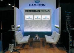 Hamilton 10x10 lounge at the EXHIBITOR show - these small but mighty exhibits prove that creativity, ingenuity, and thoughtful design can usually beat a bad rap.