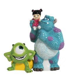 Monsters Inc. Gang Salt & Pepper Shakers