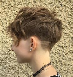 Layered Tapered Pixie Cut