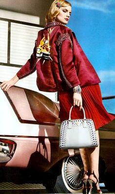 Guinevere van Seenus for Prada ~ Summer 2012 #miumiuperfume