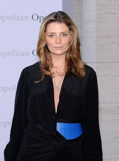 Mischa Barton looks stunning and effortless wearing VK Trevor Wrap Dress from our F/W 2013 collection