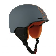O'Neill Core Unisex Ski Helmet in Asphalt & Orange Ski Helmets, Riding Helmets, Womens Ski, Shampoo Brush, Snowboarding Outfit, White Stone, Bicycle Helmet, Skiing, Unisex