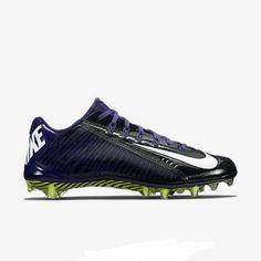 4df4d210c Buy Nike Vapor Carbon Elite 2 TD Football Cleat Black Purple Many Sz 15  online