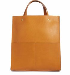 Main Image - Madewell The Passenger Convertible Leather Tote