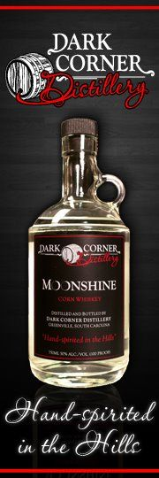 South Carolina's FIRST legal moonshine distillery located on Main St in downtown Greenville!!