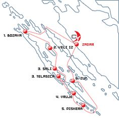 Itinerari Sugeriti Croazia