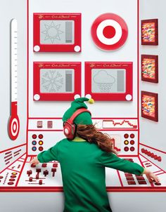 Holiday Advertising Billboard for Target in Times Square
