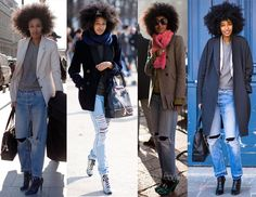 Julia Sarr Jamois via carimpong loves you- lovin her tomboy style!