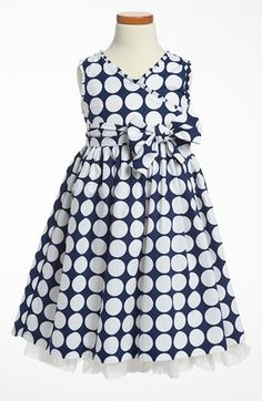 Pippa & Julie Print Dress (Little Girls & Big Girls) available at #Nordstrom