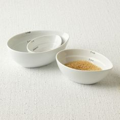 available from west elm, from conran shop Universal Expert Measuring Bowls Remodelista