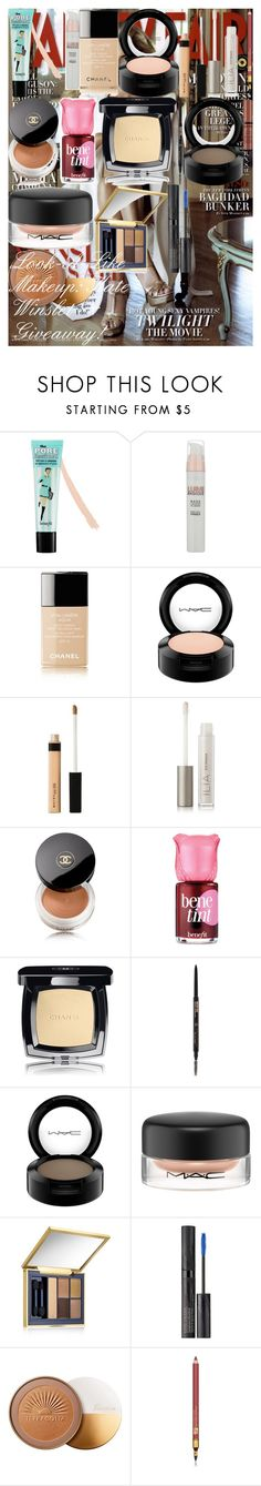 """""""Look-A-Like Makeup: Kate Winslet+Giveaway!"""" by oroartye-1 on Polyvore featuring beauty, Vanity Fair, Benefit, L'Oréal Paris, Chanel, MAC Cosmetics, Maybelline, Ilia, Anastasia Beverly Hills and Estée Lauder"""