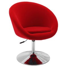 I pinned this Oslo Accent Chair in Red from the International Design event at Joss and Main!