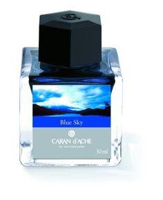 Caran d'Ache Blue Sky Fountain Pen Ink